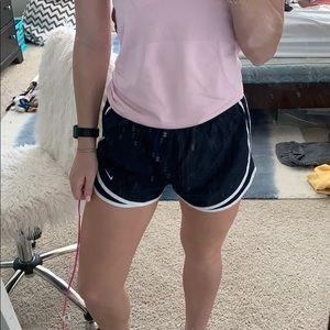 navy dri-fit nike shorts